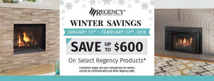 Regency Winter Savings